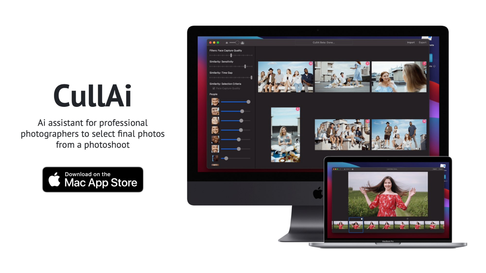 Introducing CullAi - Ai assistant for professional photographers to select final photos from a photoshoot